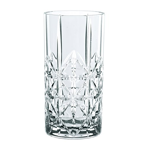 Spiegelau & Nachtmann, 4-teiliges Longdrink-Set, Kristallglas, 445 ml, Highland, 0097784-0 - 4