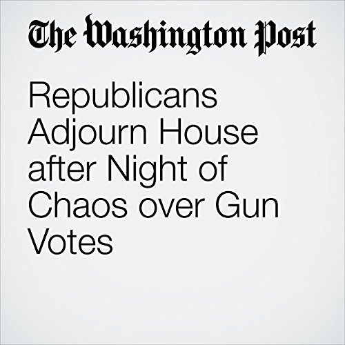 Republicans Adjourn House after Night of Chaos over Gun Votes cover art