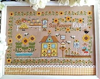 Best free sunflower cross stitch chart Reviews