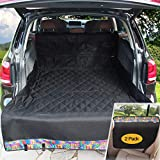 Winbate SUV Cargo Liner for Dogs, 3-in-1 Dog Hammock with 2 Door Covers (Storage Optional) -100% Waterproof Heavy-Duty Nonslip Scratchproof Cargo Liner for SUV, Machine Washable Universal Fit