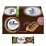 Nestlé Fitness Cioccolato Fondente Barretta di Cereali Integrali con Cioccolato Fondente 24 Pezzi