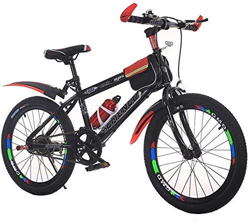 Kinderfahrrad, Gebirgsfahrrad, Studenten Bike, Hard Tail Bike, 20/22 Inch, Single Speed Fahrrad, for Erwachsene, for Sport im Freien Radfahren trainiert Reise und Pendel