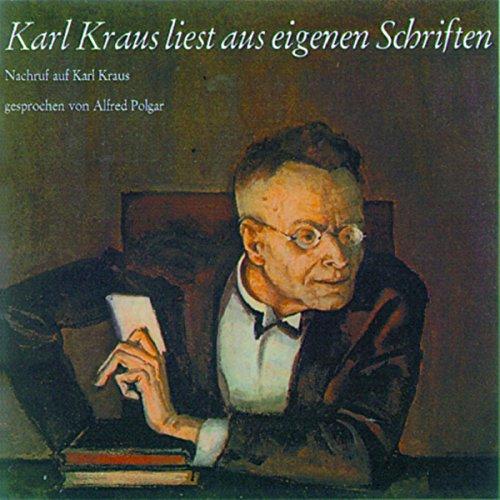 Karl Kraus liest aus eigenen Schriften Titelbild