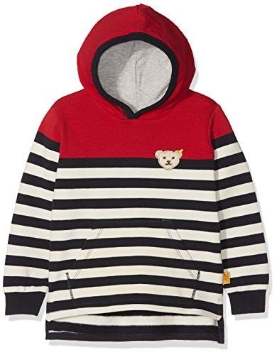 Steiff Steiff Baby-Jungen 1/1 Arm Sweatshirt, Mehrfarbig (Y/d Stripe|Multicolored 0001), 80