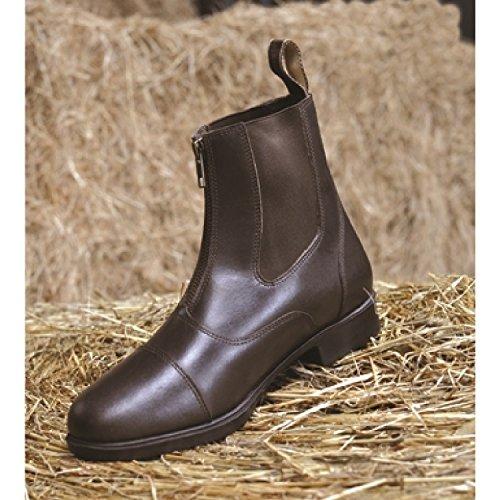 Mark Todd Unisex Jodhpur-Stiefel Toddy mit Reißverschluss (43 EU) (Braun)