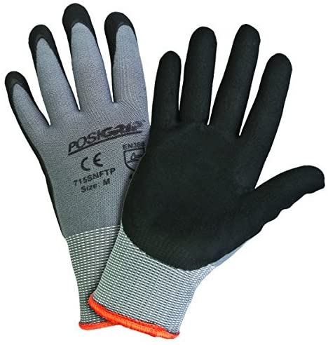 West Chester PosiGrip 715SNFTP Palm Dip Gloves Pack - Indefinitely Max 62% OFF X of 12