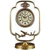 HYLH Relojes de Chimenea Familiares Reloj de Escritorio de C