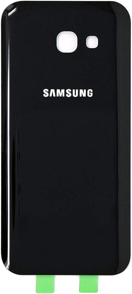 Coque arrière de rechange pour Samsung Galaxy A5 (2017) - Boîtier simple et adhésif préinstallé - Coque en verre pour A5 (2017) SM-A520W, SM-A520F, ...