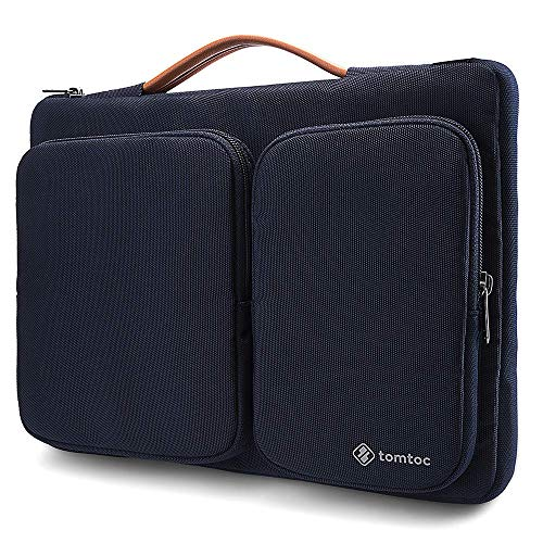 tomtoc 360 Protective Laptop Sleeve for 13.5 Inch Microsoft Surface Book 2/1, Surface Laptop 3/2/1, 13 Inch Old MacBook Air, MacBook Pro Retina, Waterproof Case for ThinkPad X1 Carbon (5/ 6th Gen)