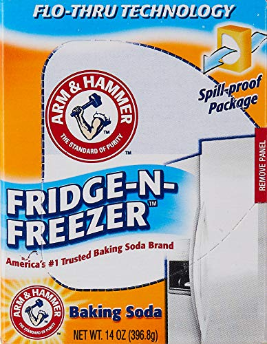 Arm & Hammer - 1155 Fridge-N-Freezer Baking Soda, 14 oz, Multi