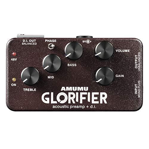 AMUMU GLORIFIER Acoustic Guitar Preamp DI Direct Input Box Guitar Pedal