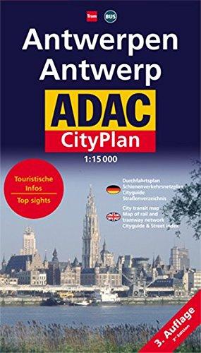 ADAC Stadtplan Antwerpen: 1:15000 (ADAC Citypläne)
