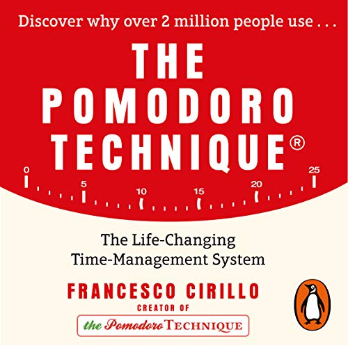 The Pomodoro Technique     The Life-Changing Time-Management System              By:                                                                                                                                 Francesco Cirillo                               Narrated by:                                                                                                                                 Mark Deakins,                                                                                        Francesco Cirillo                      Length: 2 hrs and 50 mins     4 ratings     Overall 4.3