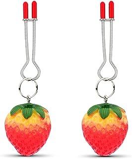 Tepel klem sex bell borstklemmen clip labia klem stimulatie niet piercing tepel ringen sieraden for vrouwen (Size : F)