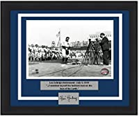 """Yankees Lou Gehrig Retirement Speech 8"""" x 10"""" Framed and Matted Baseball Photo with Engraved Autograph"""