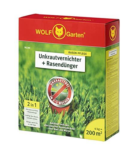 WOLF-Garten - 2-in-1: Unkrautvernichter plus Rasendünger SQ 200; 3840725