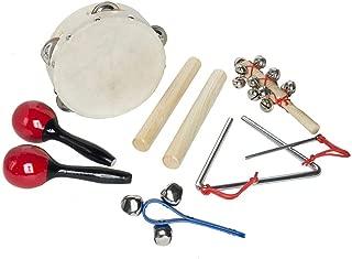 Mini Kit Percussão Lt6A Shiny Toys Bege