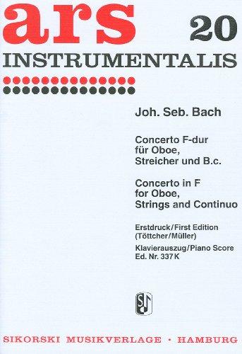 BACH - Concierto en Fa Mayor (BWV:1053) para Oboe y Piano (Totcher/Grebe)