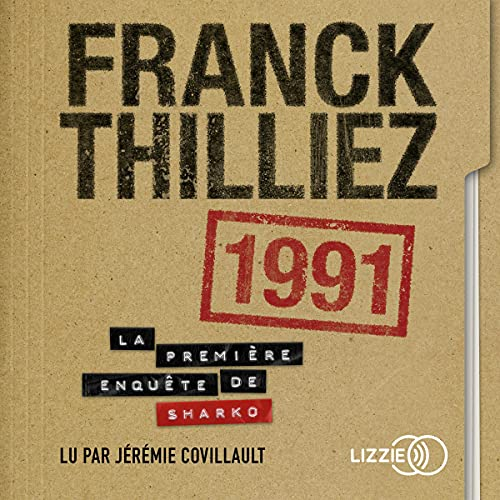 1991 [French Version] Audiobook By Franck Thilliez cover art