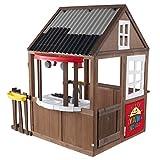 KidKraft Ryan's World Outdoor Playhouse 59.3' x 58' x 64.8', Brown