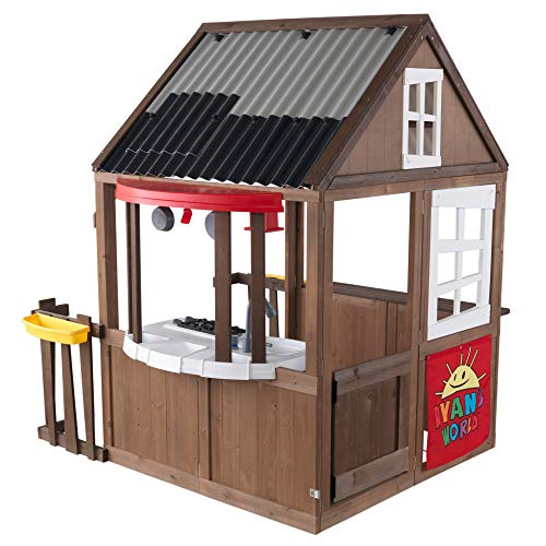 KidKraft Ryan's World Outdoor Playhouse, Gift for Ages 3-10