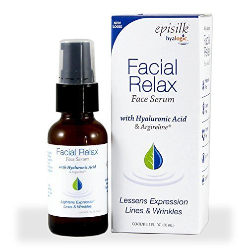 Hyalogic Episilk FRS Serum - HA Lessens Expression Lines & Wrinkles - Facial Relax Serum With Hyaluronic Acid & Argireline - 1 ounce by Hyalogic
