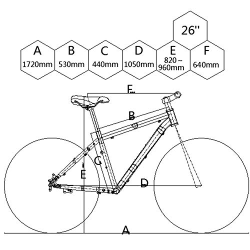 E-Mountainbike BIKFUN 26 Zoll Bild 6*