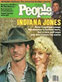 Harrison Ford and Kate Capshaw (Indiana Jones and the Temple of Doom), Jermaine Jackson - July 2, 1984 People Weekly Magazine