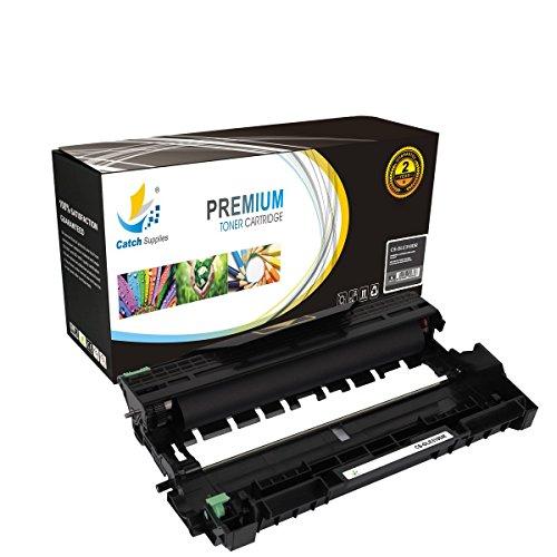 Catch Supplies Premium E310 Dell Replacement Drum Unit Compatible with E310dw E514dw E515dn E515dw E310DR E310-DR 593-BBKE Laser Printers  12,000 Yield 