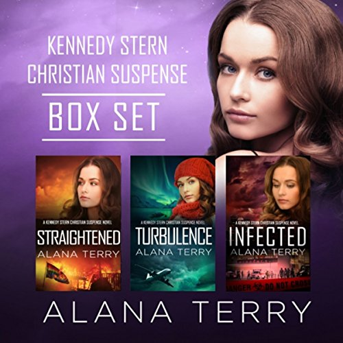 Kennedy Stern Christian Suspense Book Bundle audiobook cover art