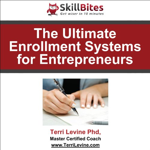 The Ultimate Enrollment Systems for Entrepreneurs audiobook cover art