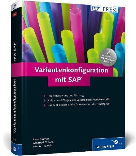 Variantenkonfiguration mit SAP (SAP PRESS) von Uwe Blumöhr (28. Januar 2011) Gebundene Ausgabe