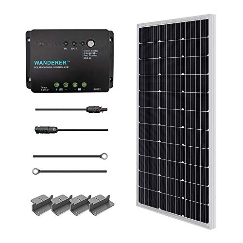 Our #1 Pick is the Renogy 100 Watts Monocrystalline Solar Panel