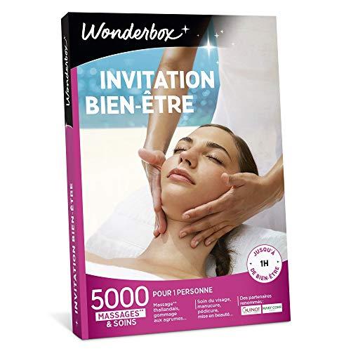 Wonderbox - Coffret cadeau - INVITATION AU BIEN ETRE – 5000 soins du visage, gommage aux agrumes, beautés des...