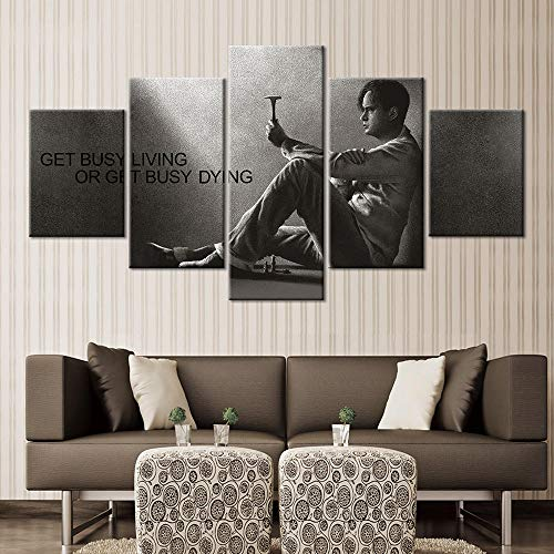 Thznmg Lienzo De Pintura Mural 200X100 Cm/ 78.8'X 39.4'Cuadros Modulares Decoración Del Hogar Arte De La Pared Cartel De La Lona Decoración Pintura De 5 Piezas Pintura Impresa Hd Pintura De Personajes