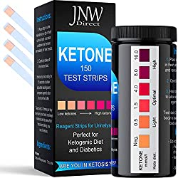 in budget affordable Ketone test strips, 150 urine ketosis strips to determine the level of urinary ketosis in the body, …