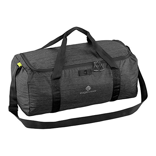 EAGLE CREEK PACKABLE DUFFEL TRAVEL BAG (BLACK)