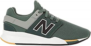 New Balance Boys' 247v2 Sneaker, Faded Rosin/Gold dust, 7 W US Big Kid