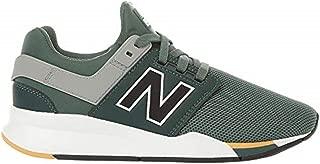 New Balance Boys' 247v2 Sneaker, Faded Rosin/Gold dust, 4 M US Big Kid