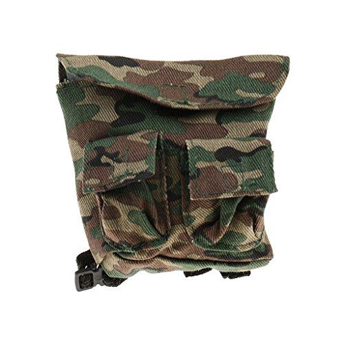 sharprepublic 1/6 Scale Jungle Camouflage Rucksack Umhängetasche Für 12 '' Action Figure DIY