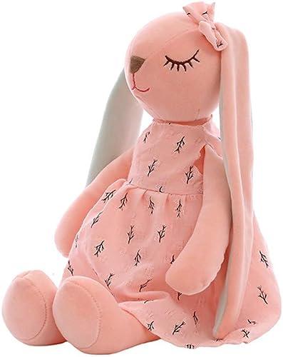 LAIBAERDAN Niedliche ANAN Kaninchen Plüschpuppe füral Kaninchen Plüschtier Kind Kissen mädchen Geburtstagsgeschenk, 65cm