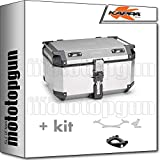 kappa maleta kfr580a k'force 58 lt + portaequipaje monokey compatible con bmw f 900 r 2020 20