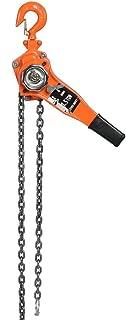 Polipasto Manual de Cadena, 1.5T 3 m polipasto con cadena de elevación polipasto manual con Palanca con cable de acero