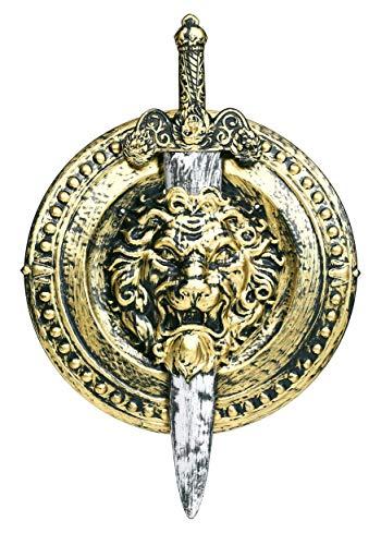 Fun Costumes 20″ Gladiator Shield W/ 29″ Sword Standard Gold