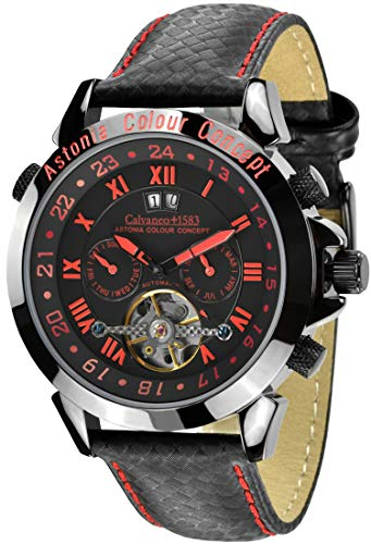 Calvaneo 1583 Astonia Color Concept Edition Automatik 'Red Fireline'