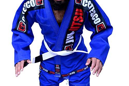 COTESCO Best 450 GSM Braziliaanse Mma Grijs Ultra Licht Bjj Patches Gi Jiu Jitsu Gi Gear Kleding Kimono Parel Weave 100% Katoen Uniform Suit Te Koop