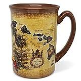 14 oz. Boxed Hawaiian Embossed Coffee Mug, The Hawaiian Islands