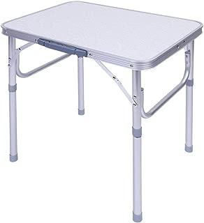 GOTOTOP Table Pique-niques Pliante Valise avec 4 Si/èges en Aluminium pour Camping Jardin