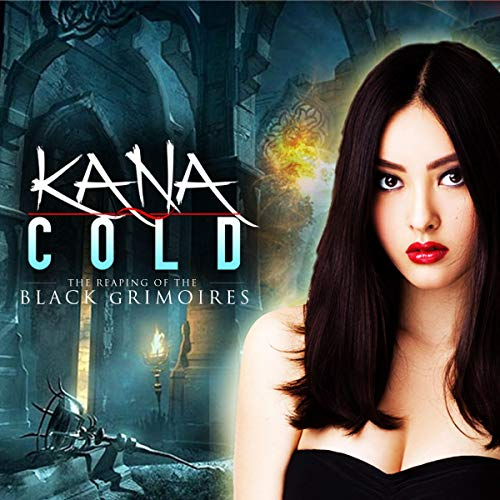 『Kana Cold: The Reaping of the Black Grimoires』のカバーアート