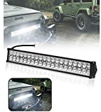 Detachi Fog Light Bar Light 40 Led Auxiliary Light White Light Off-Roading